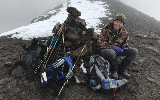 Tolbatischik-Kamtschatka-Wanderpause